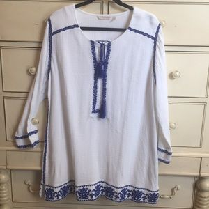 NWOT Soft Surroundings beach cover up